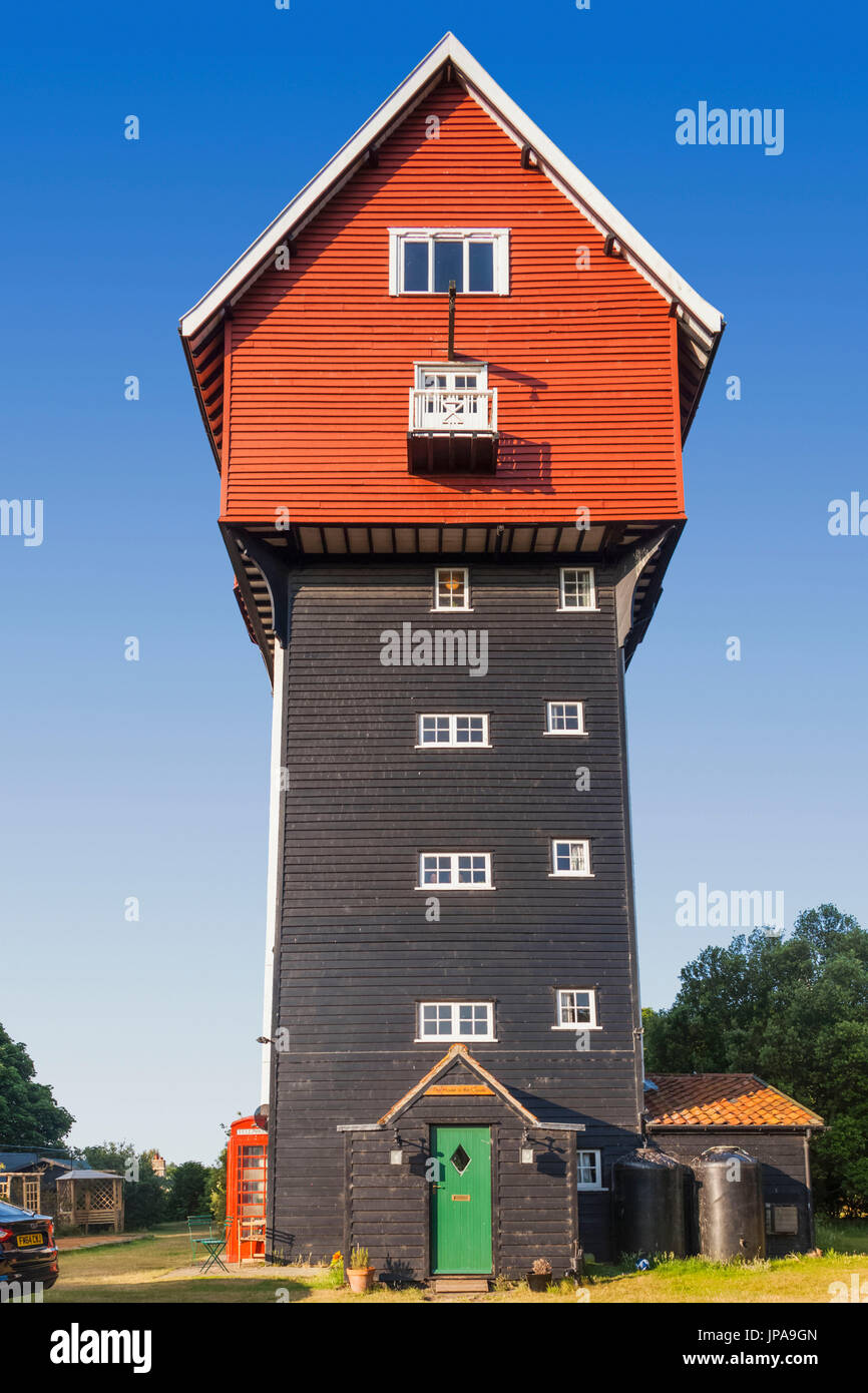 England, Suffolk, Thorpeness, House in The Clouds Stock Photo
