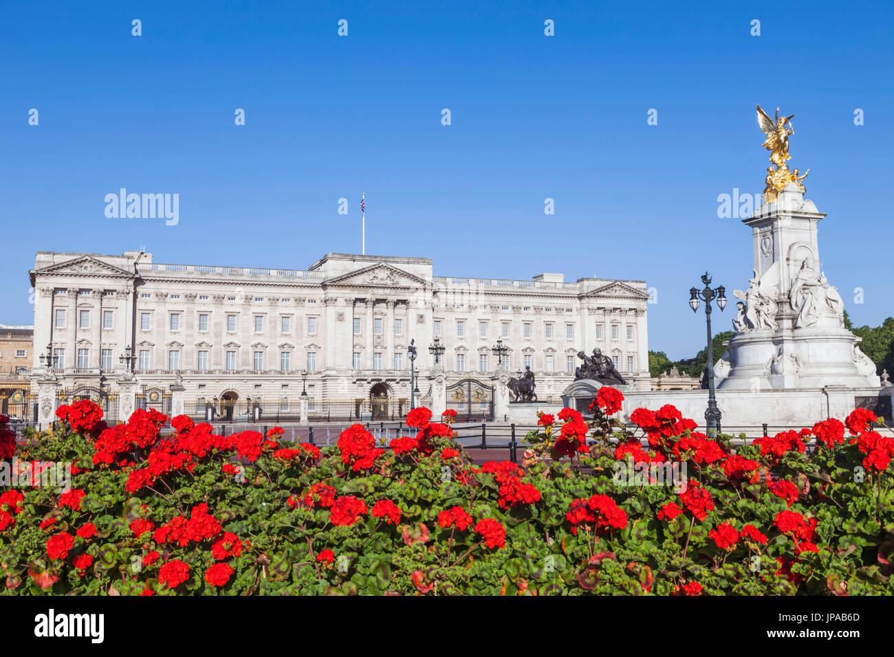 England, London, Buckingham Palace - Stock Image
