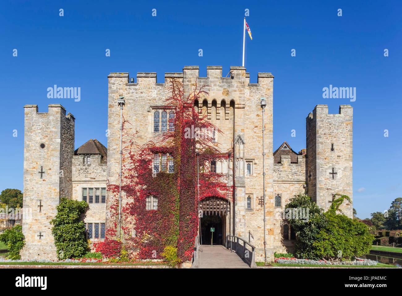 England, Kent, Edenbridge, Hever Castle - Stock Image