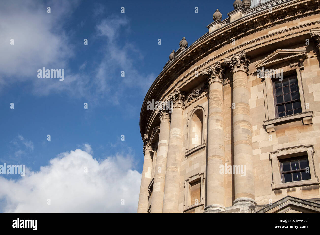Radcliffe Camera, part of the Bodleian Library, university, Oxford, Oxfordshire, England, Great Britain - Stock Image