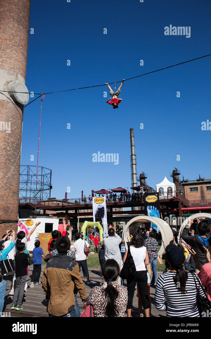 Tightrope Stock Photo