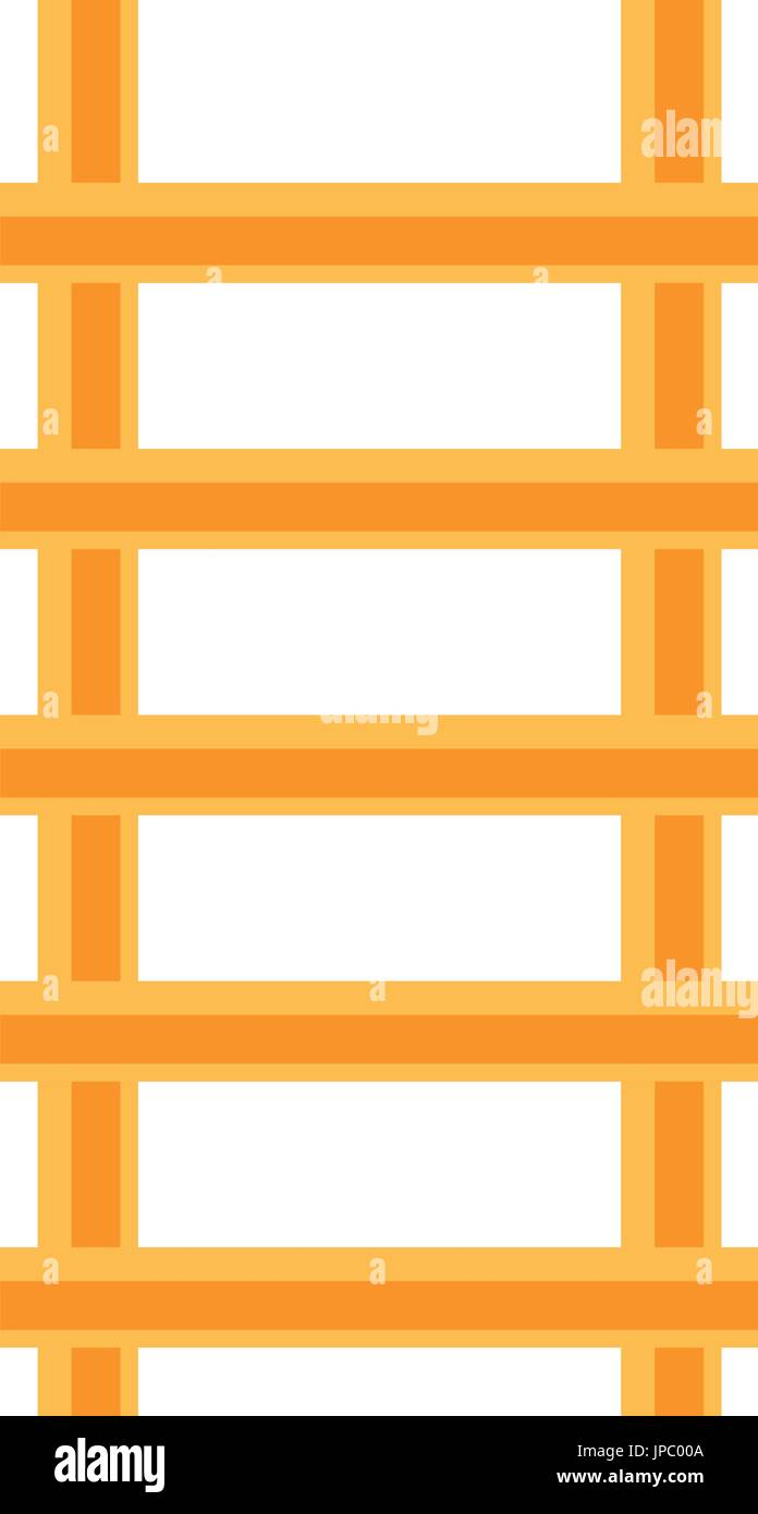 Ladder construction tool - Stock Vector