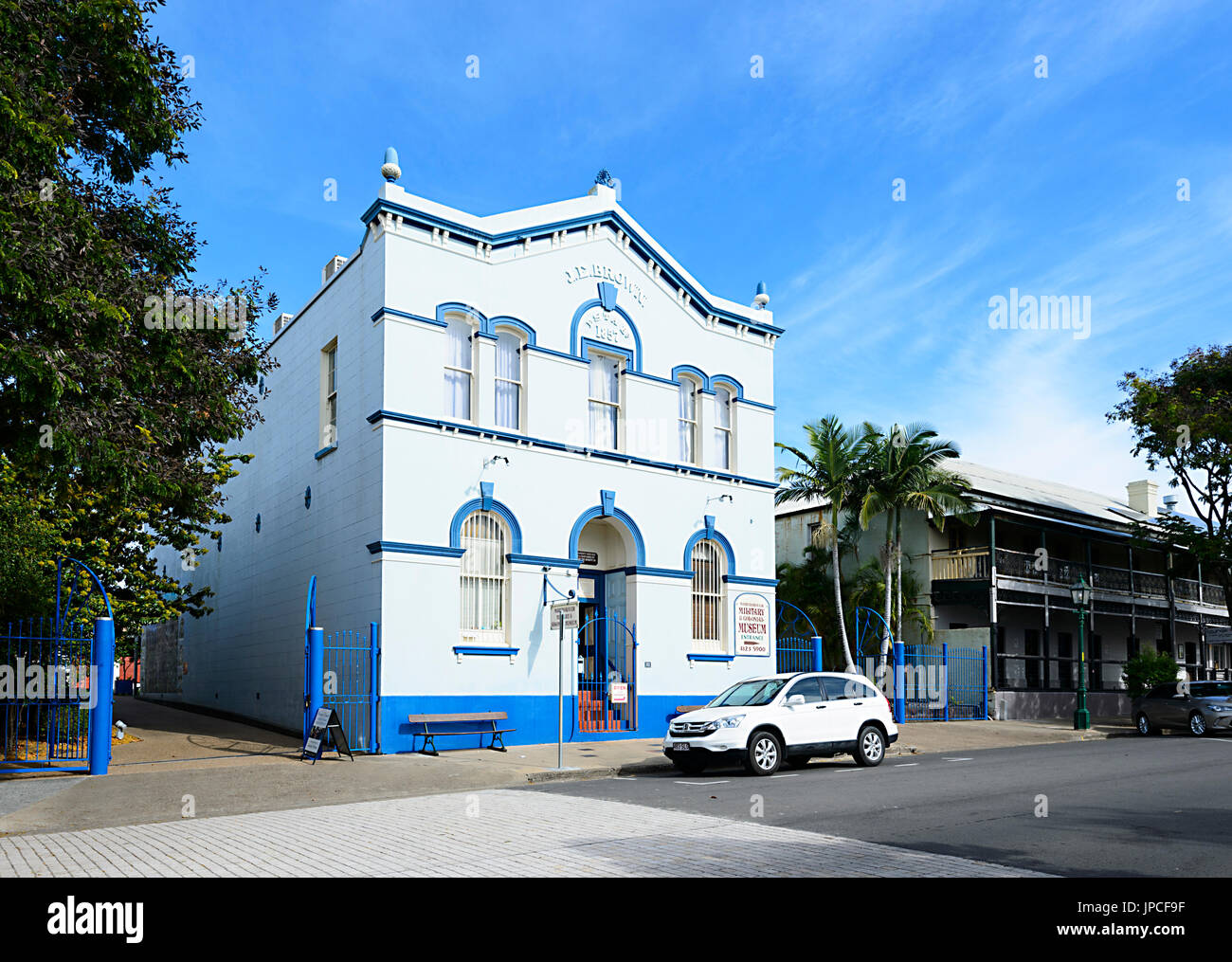 Military & Colonial Museum in Maryborough Heritage Precinct, Queensland, QLD, Australia - Stock Image