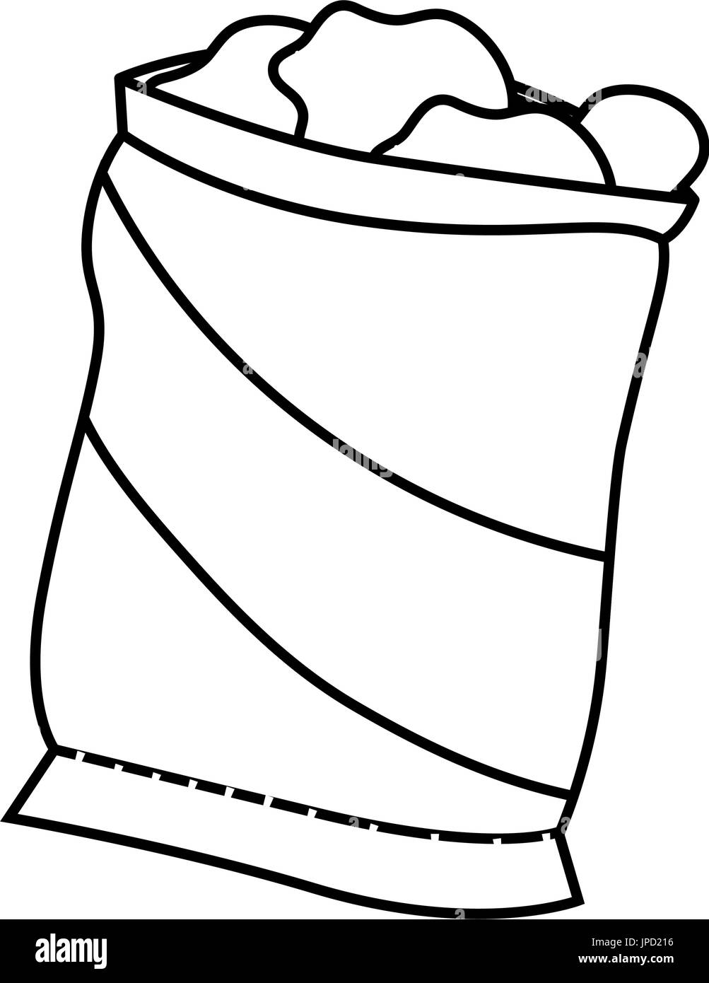 potato chip bag black and white stock photos images alamy. Black Bedroom Furniture Sets. Home Design Ideas