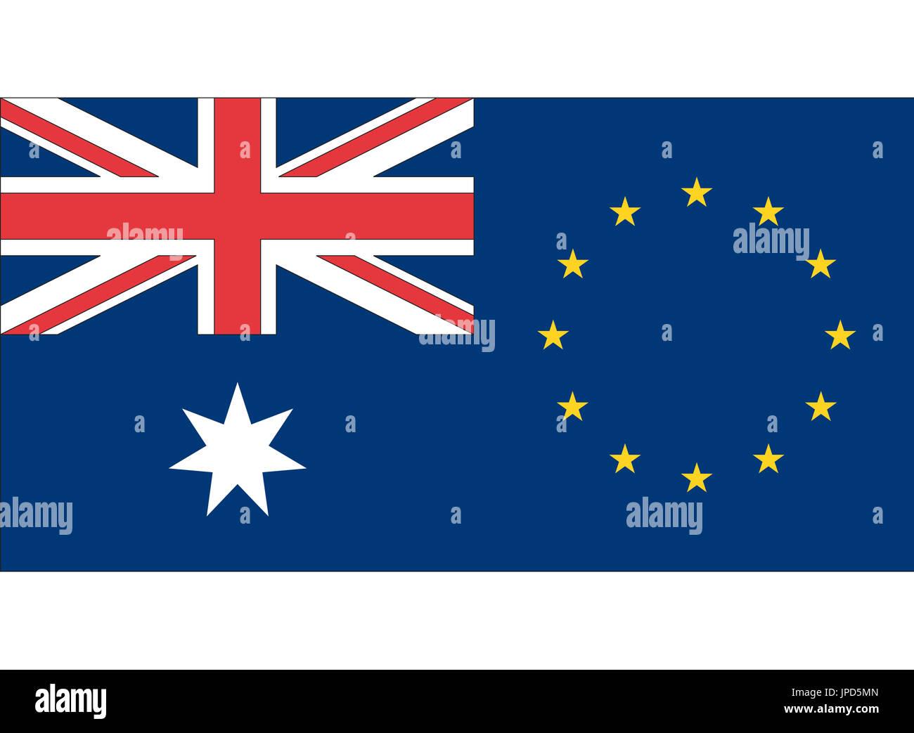 Eu Australia Free Trade Agreement Stock Photos Eu Australia Free