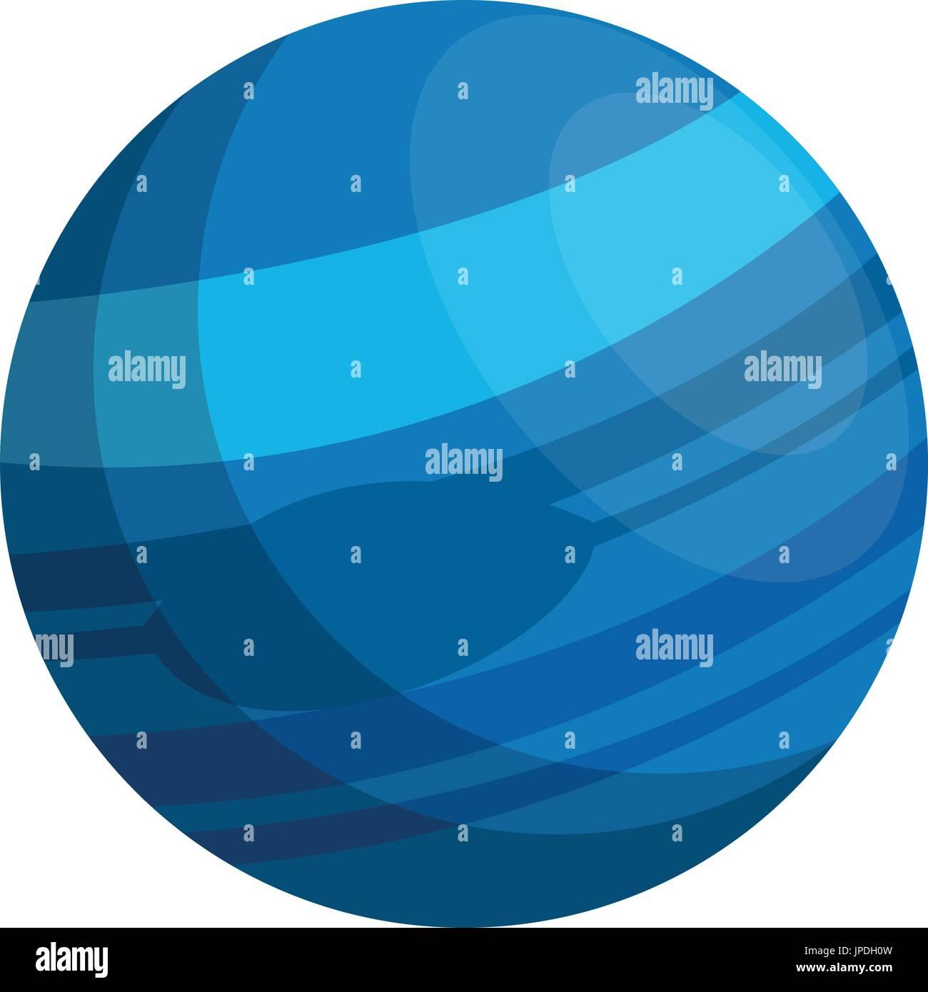 planet icon image  - Stock Vector