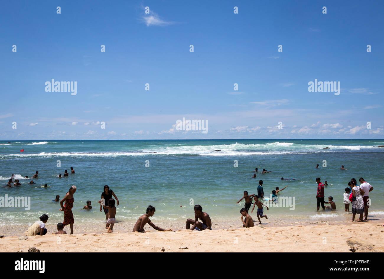 Tangalle beach , Sri Lanka Stock Photo