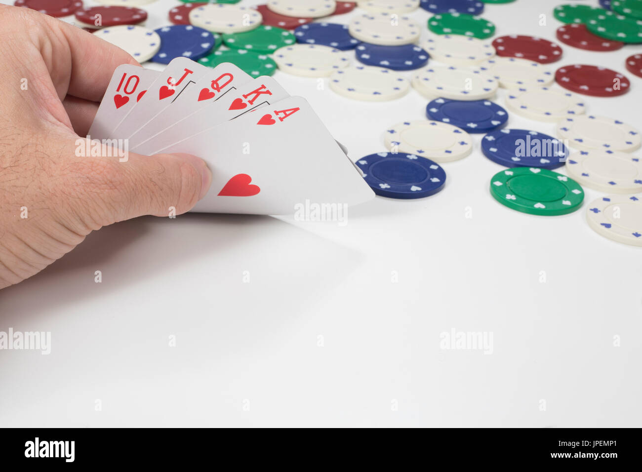 The Ranking of the Poker Cards