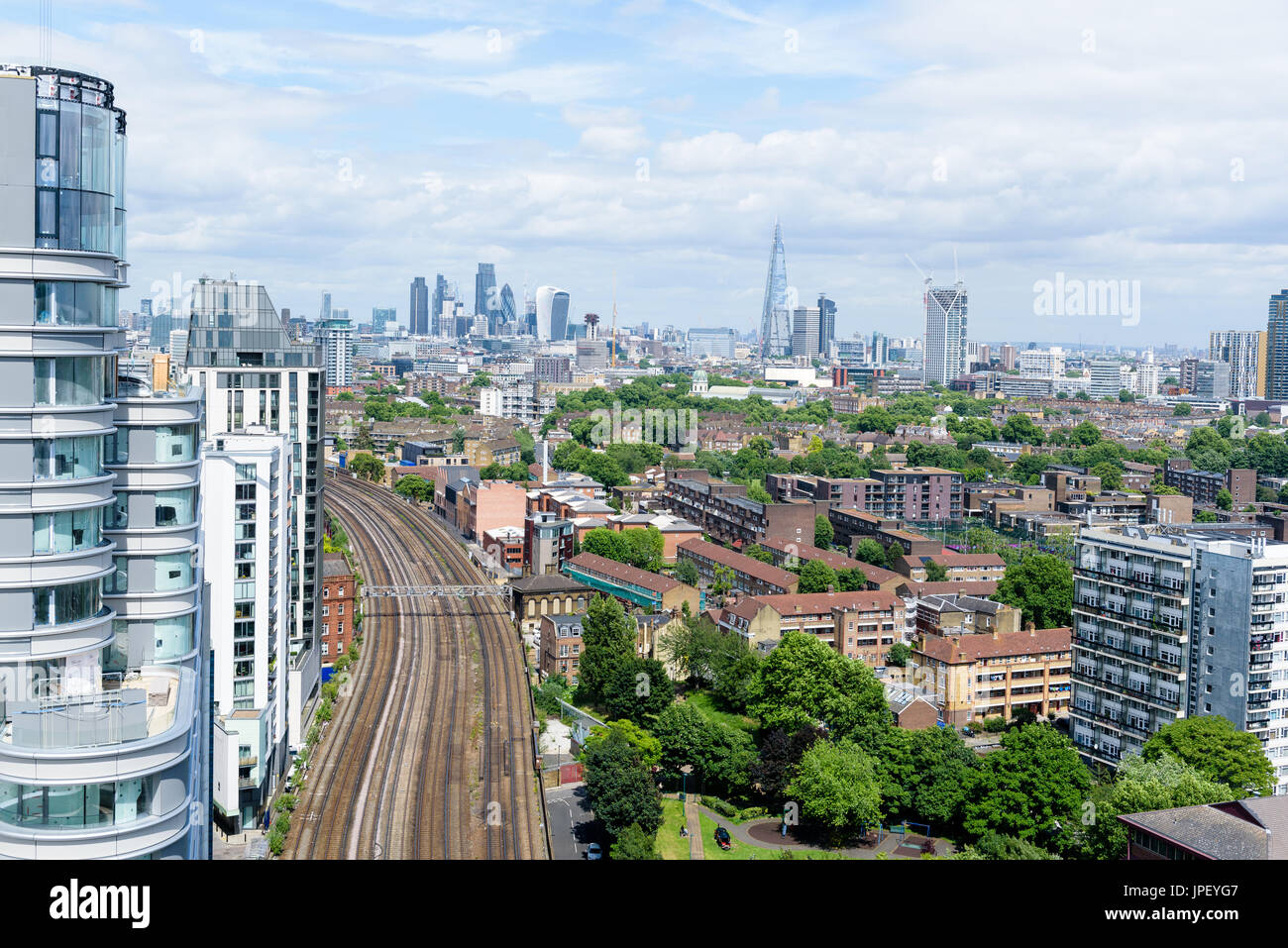 London Skyline - Stock Image