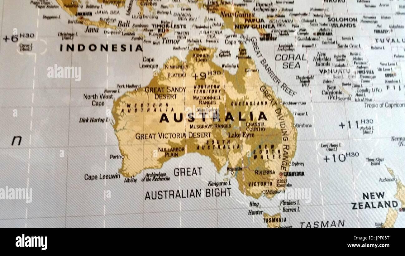 cartography - Stock Image
