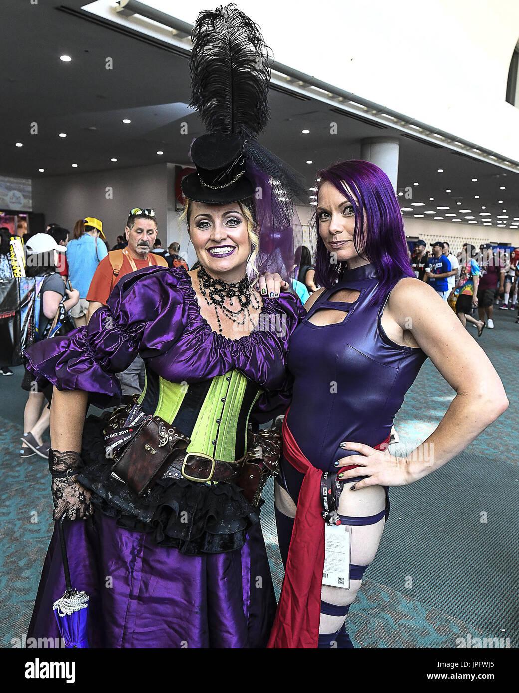 San Diego Ca Usa 22nd July 2017 Comic Con International 2017 Stock Photo Alamy