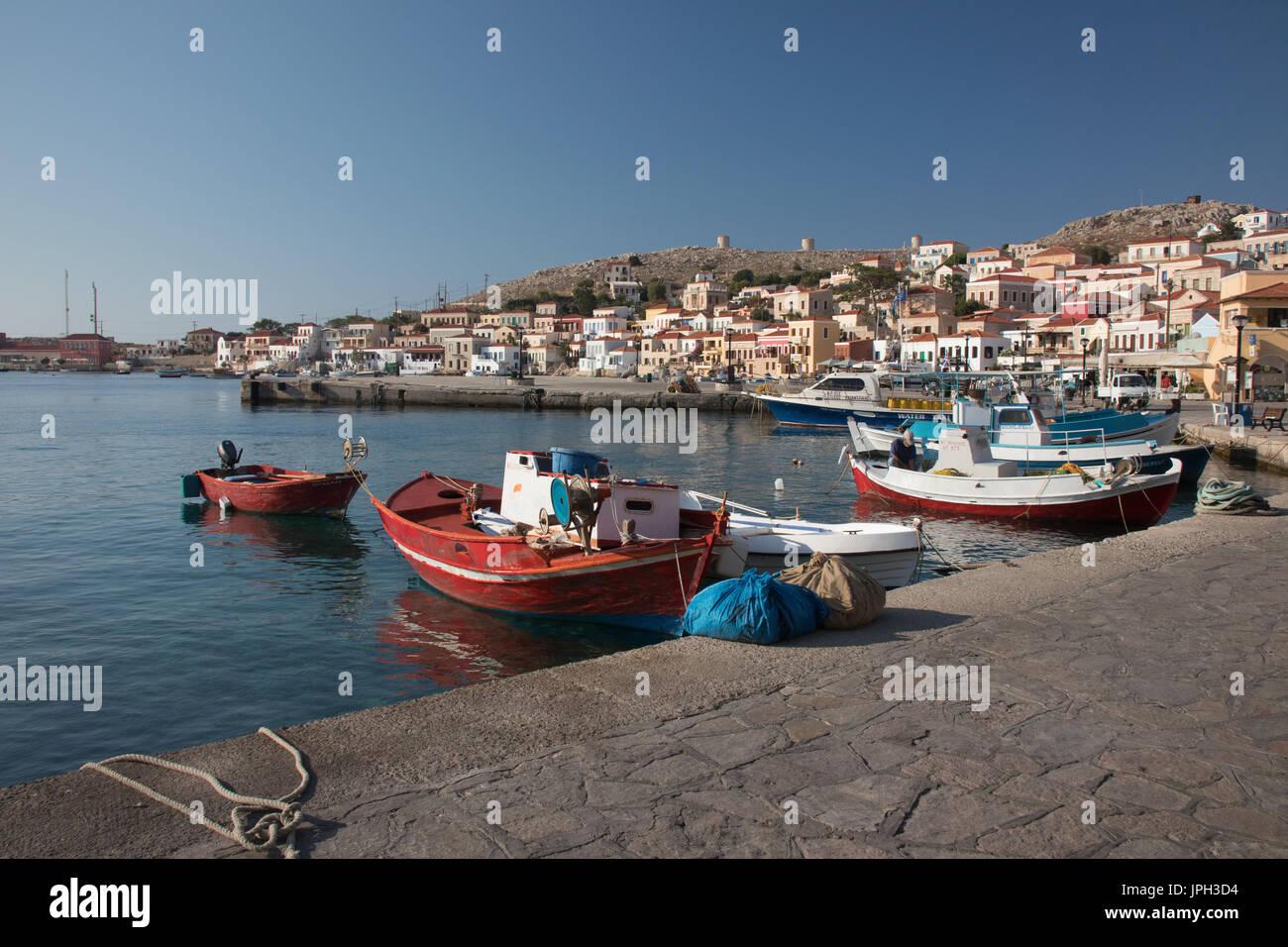 Emborio, Halki, Greece - Stock Image