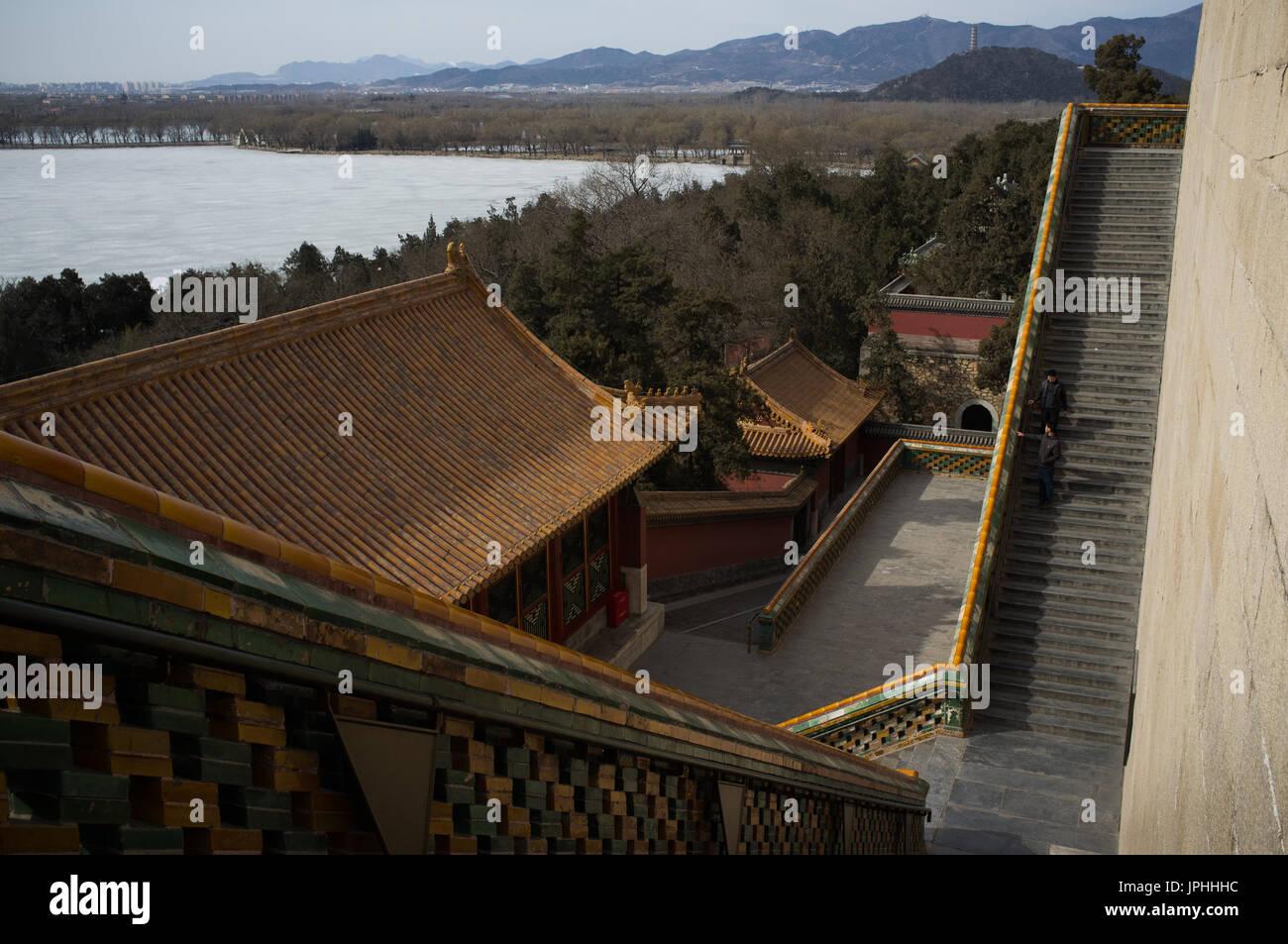 Summer Palace, Beijing, China - Stock Image