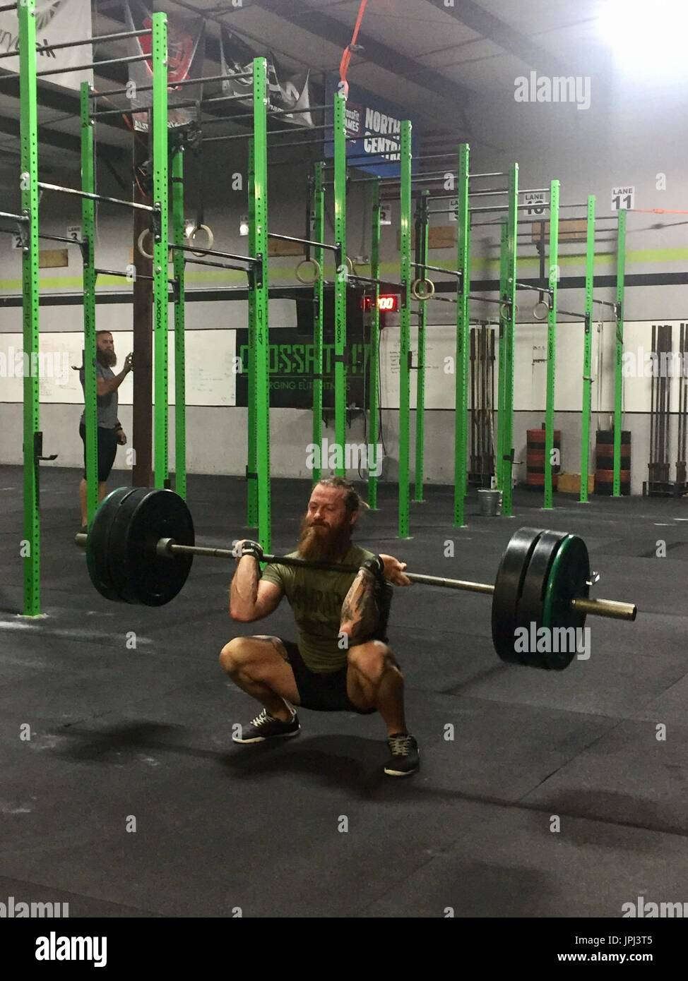 weightlifting - Stock Image