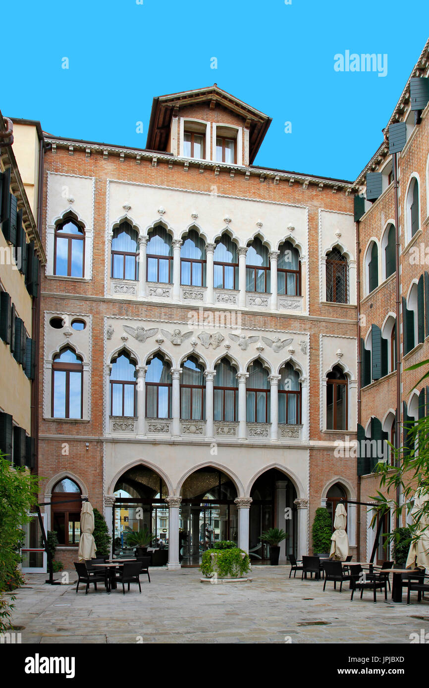 5 Star Luxus Hotel Centurion Palace in Venice, Veneto, Italy, Europe - Stock Image