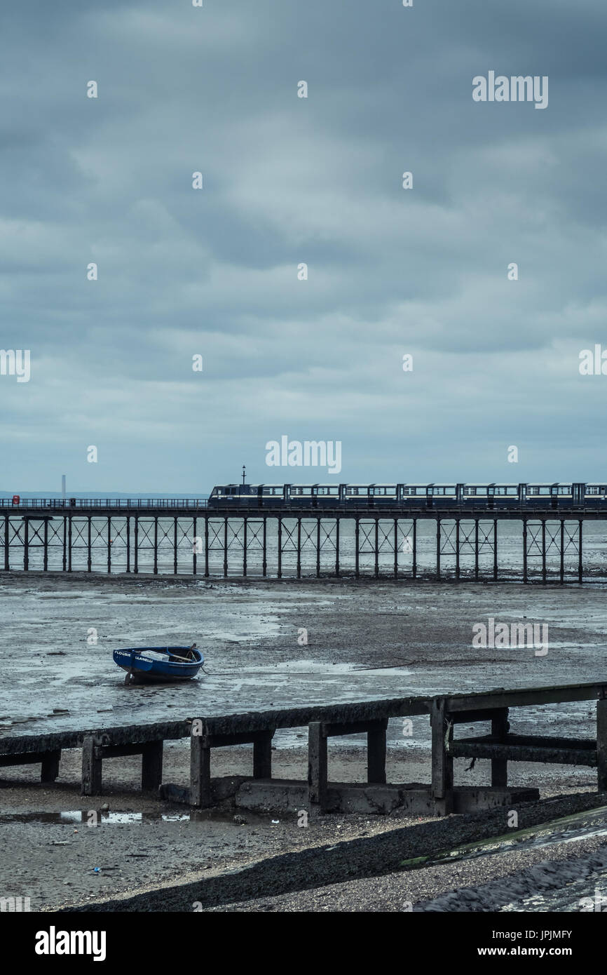 Southend Pier - Stock Image