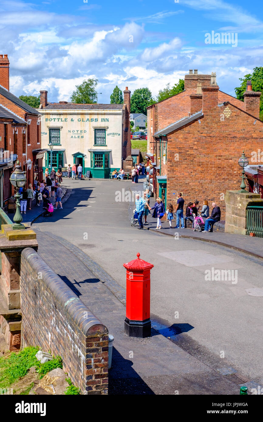 Black Country Living Museum - Stock Image