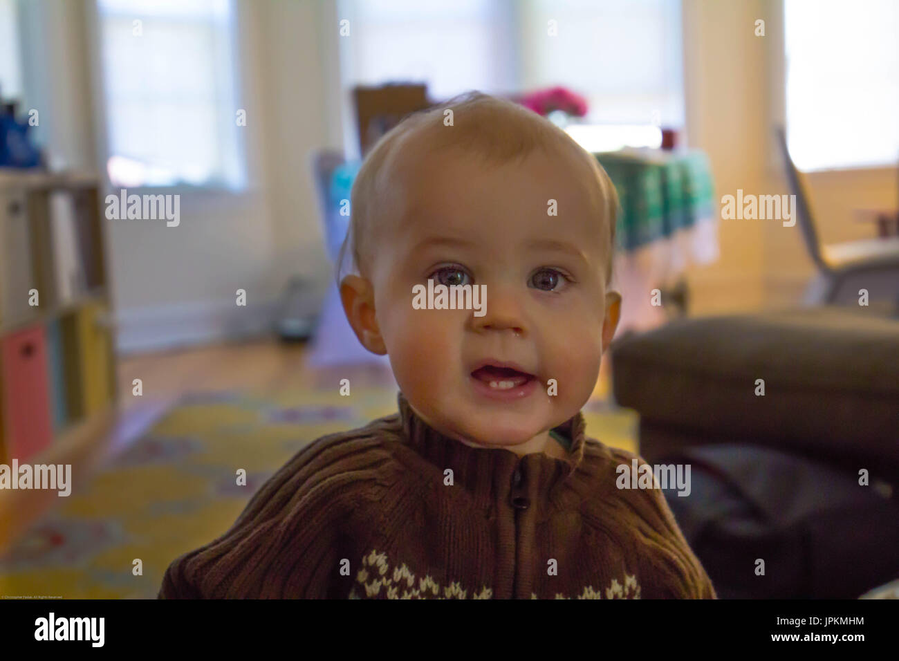 Goofy Baby - Stock Image
