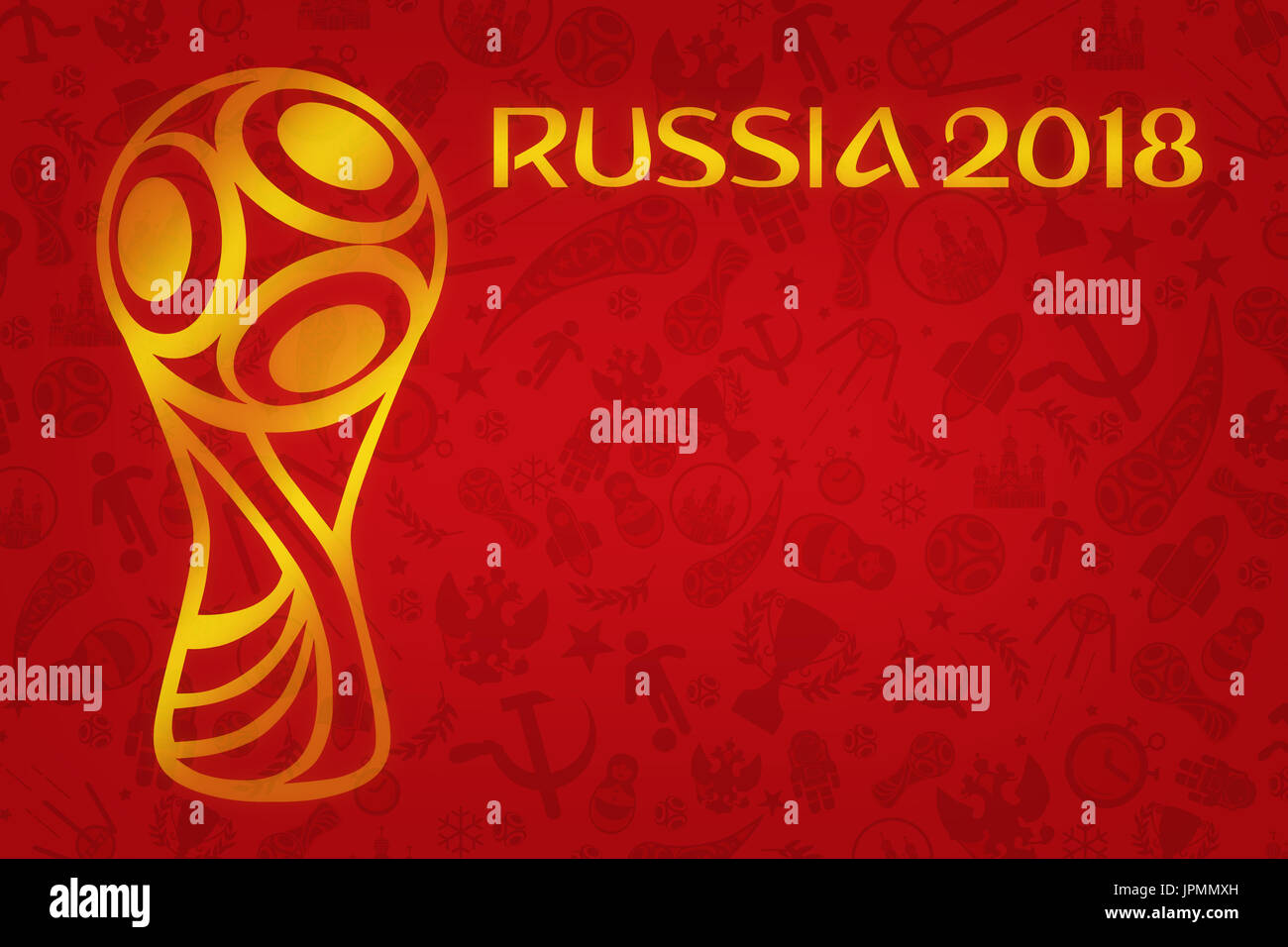 World Cup Football 2018 Wallpaper World Soccer Tournament In