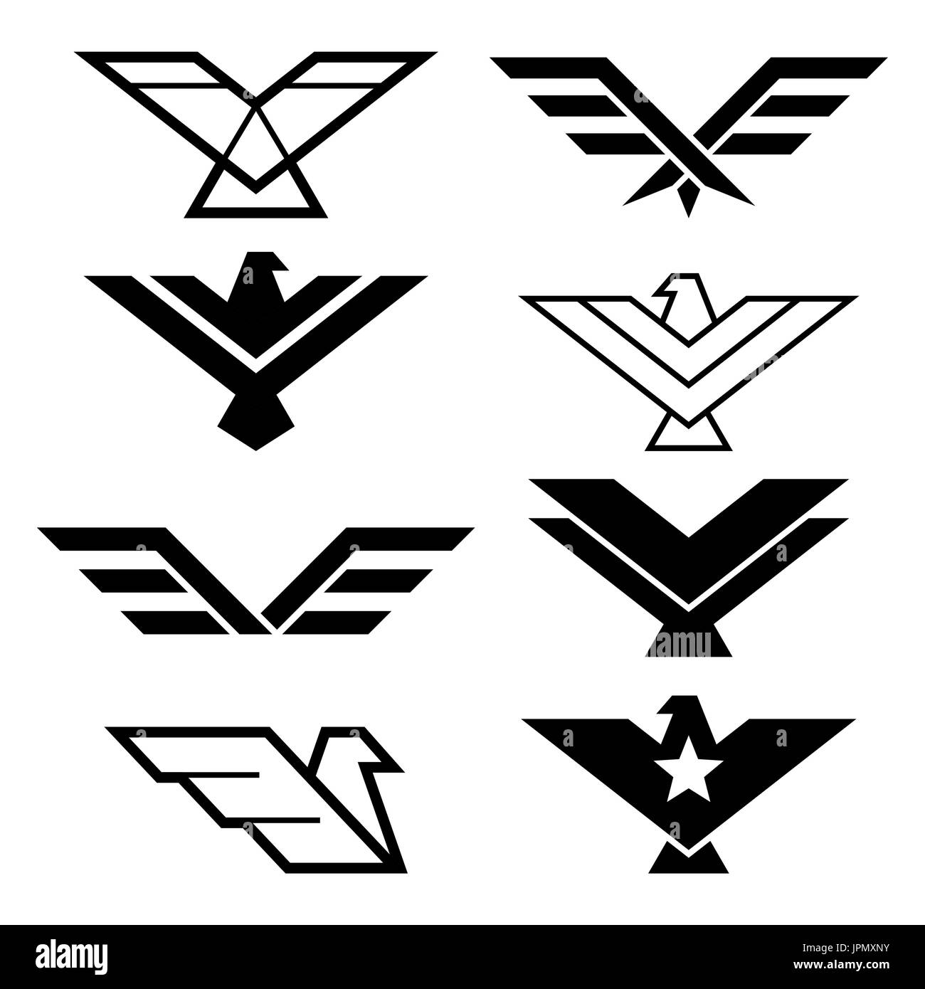 eagle geometric design eagle s wings vector icons set eagles stock vector image art alamy https www alamy com eagle geometric design eagles wings vector icons set eagles graphic image151665415 html