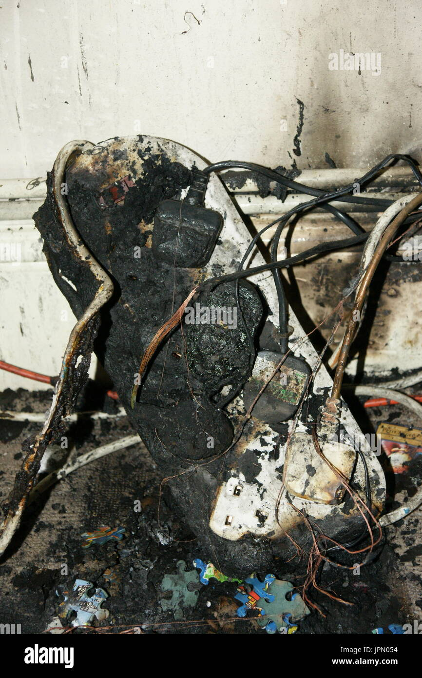 electrical-fire-electrical-overload-JPN054 Fuse Box On Fire on red box on fire, circuit box on fire, cable box on fire,