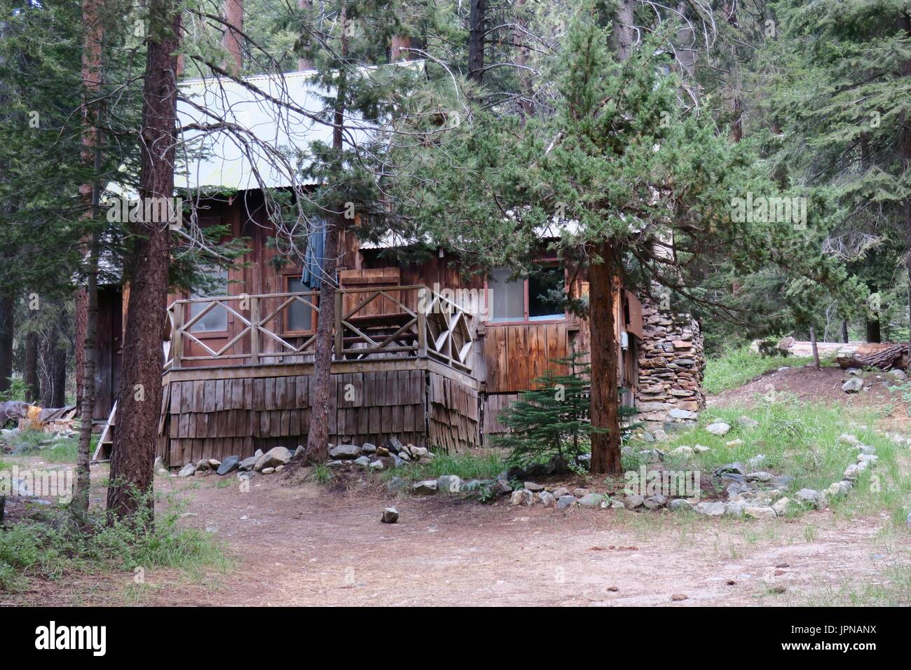 sequoia tharp john park grand part paint log cabins in s muirs national muir valley