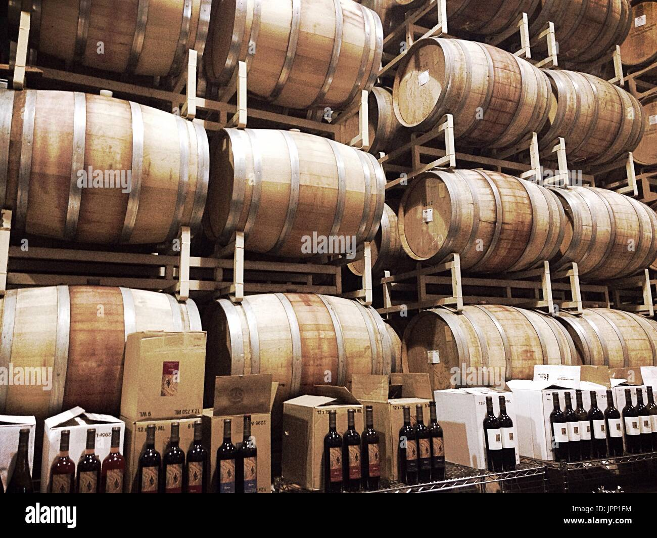 barrel - Stock Image