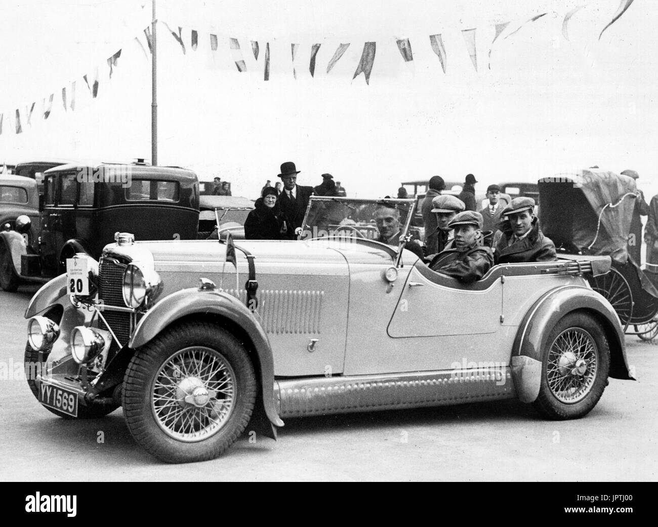 1932 Rover Speed 20 - Stock Image