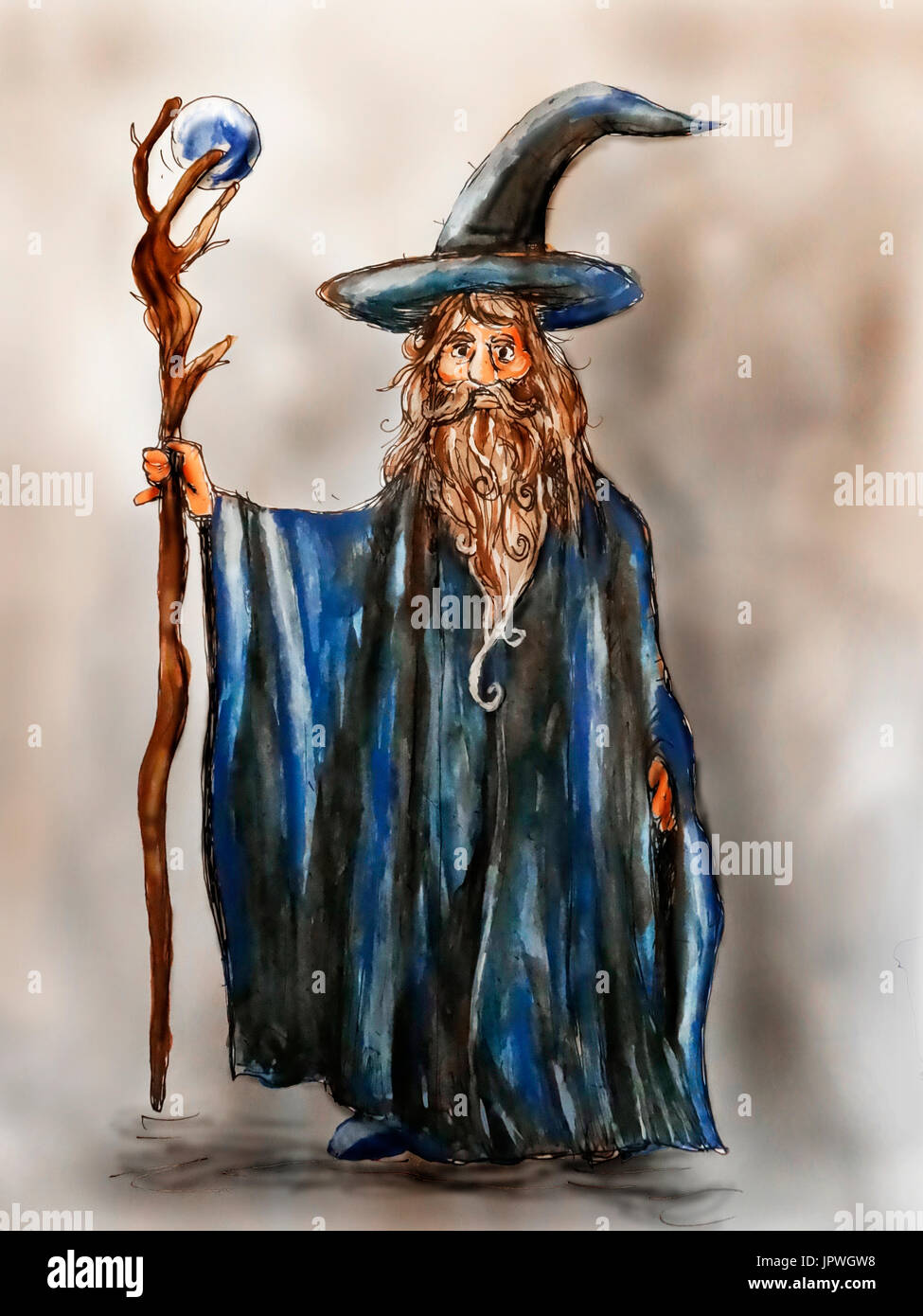 An Illustration Of A Classical Fantasy Wizard Warlock Or Mage Stock Photo Alamy Over 29,281 wizard pictures to choose from, with no signup needed. https www alamy com an illustration of a classical fantasy wizard warlock or mage image151767428 html