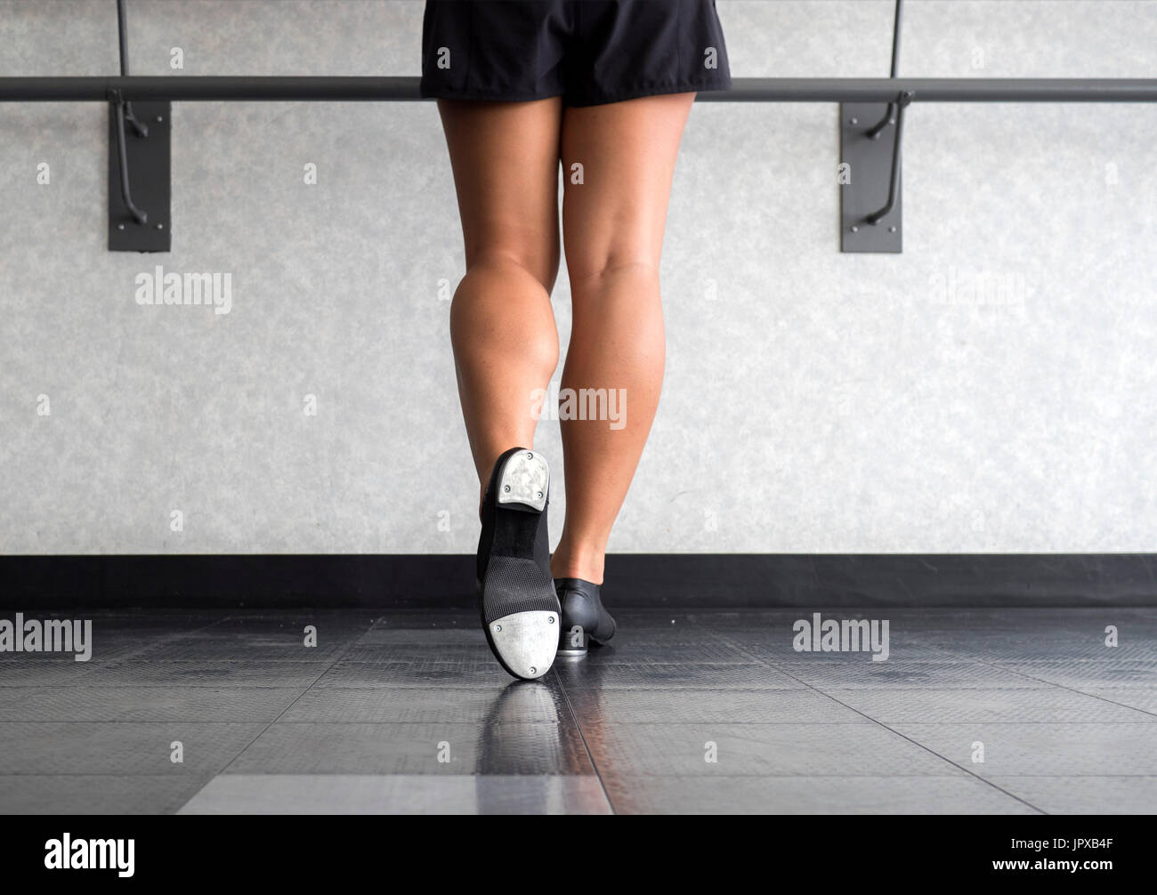 The Tap of A Tapper - Stock Image
