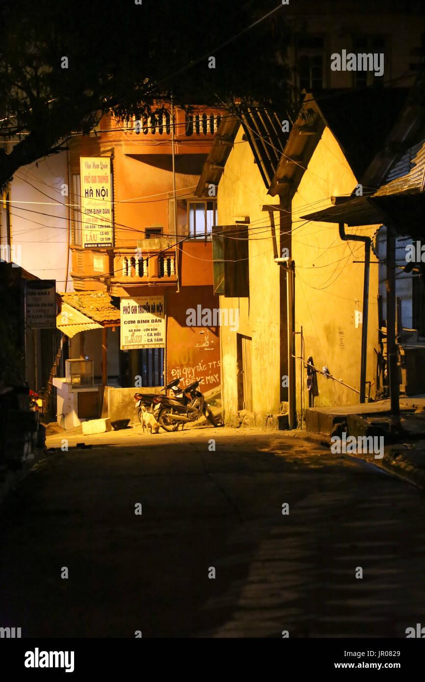 Alleyway in Sapa - Stock Image