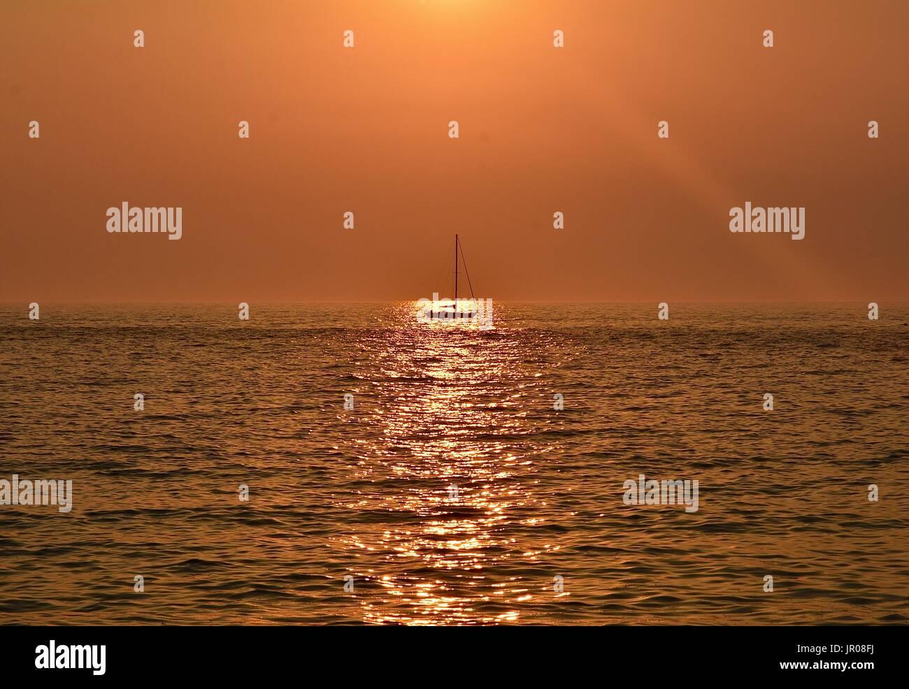 Sunset - Stock Image