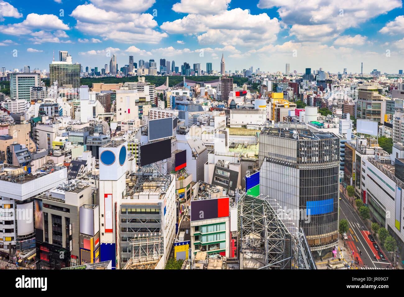 Shibuya, Tokyo, Japan cityscape. - Stock Image