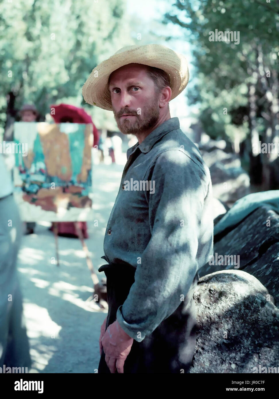 LUST FOR LIFE 1956 MGM film with Kirk Douglas as Vincent van Gogh - Stock Image