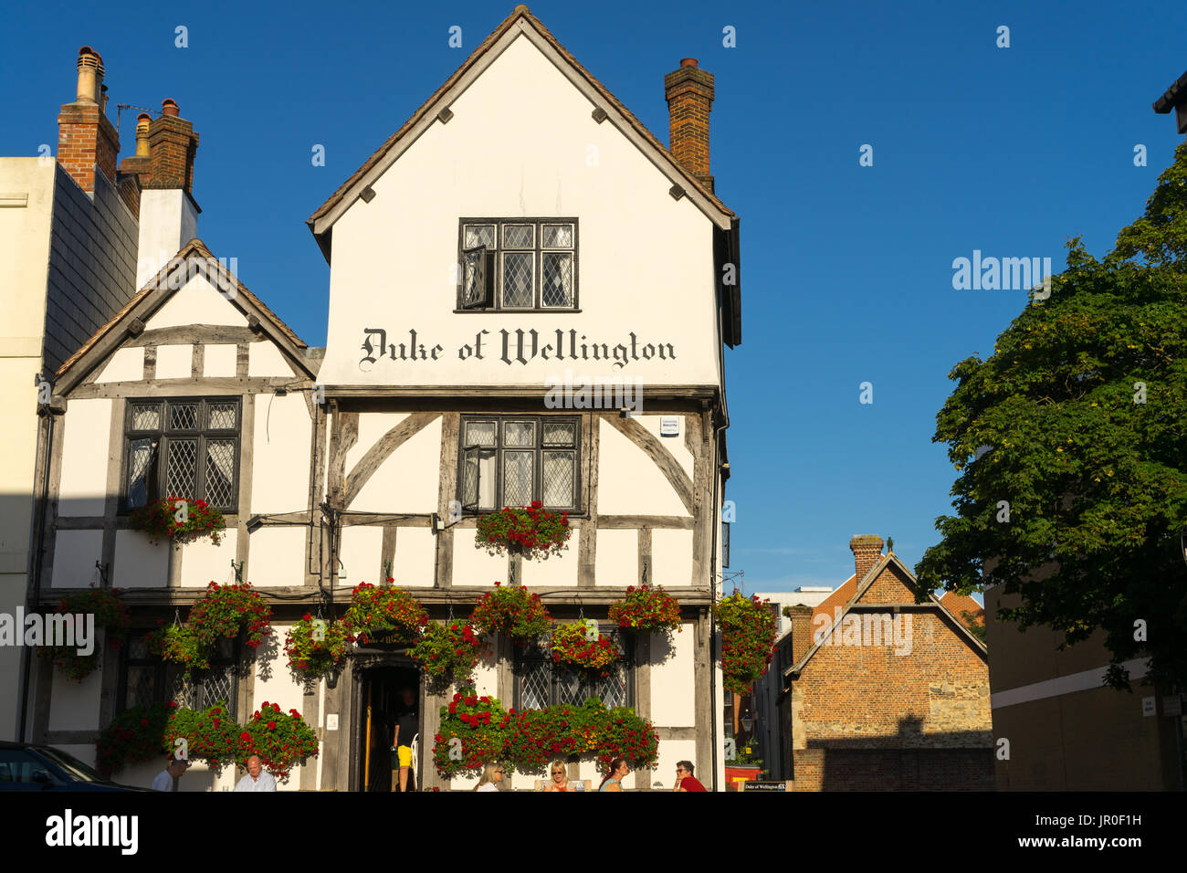 The Duke of Wellington pub in the historic Old Town part of Southampton, England, UK - Stock Image