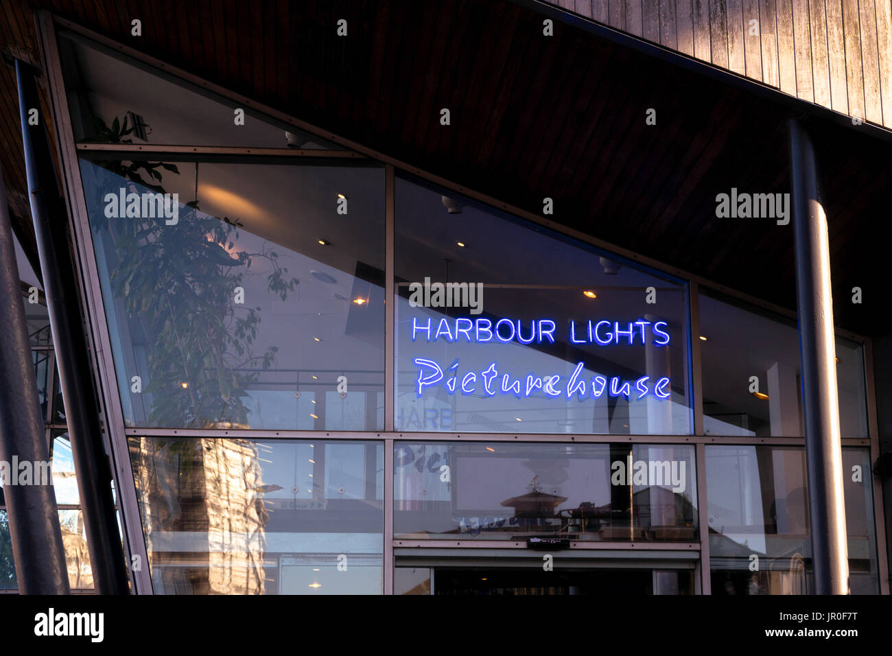 The Harbour Lights Picturehouse cinema in Ocean Village in Southampton, England, UK - Stock Image
