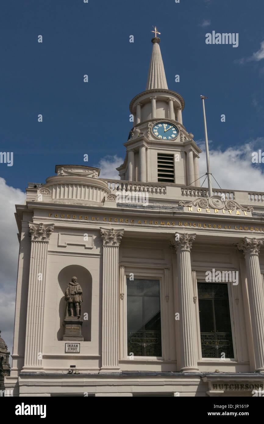Hutchesons' Hall, Ingram Street, Glasgow, Scotland, UK - Stock Image