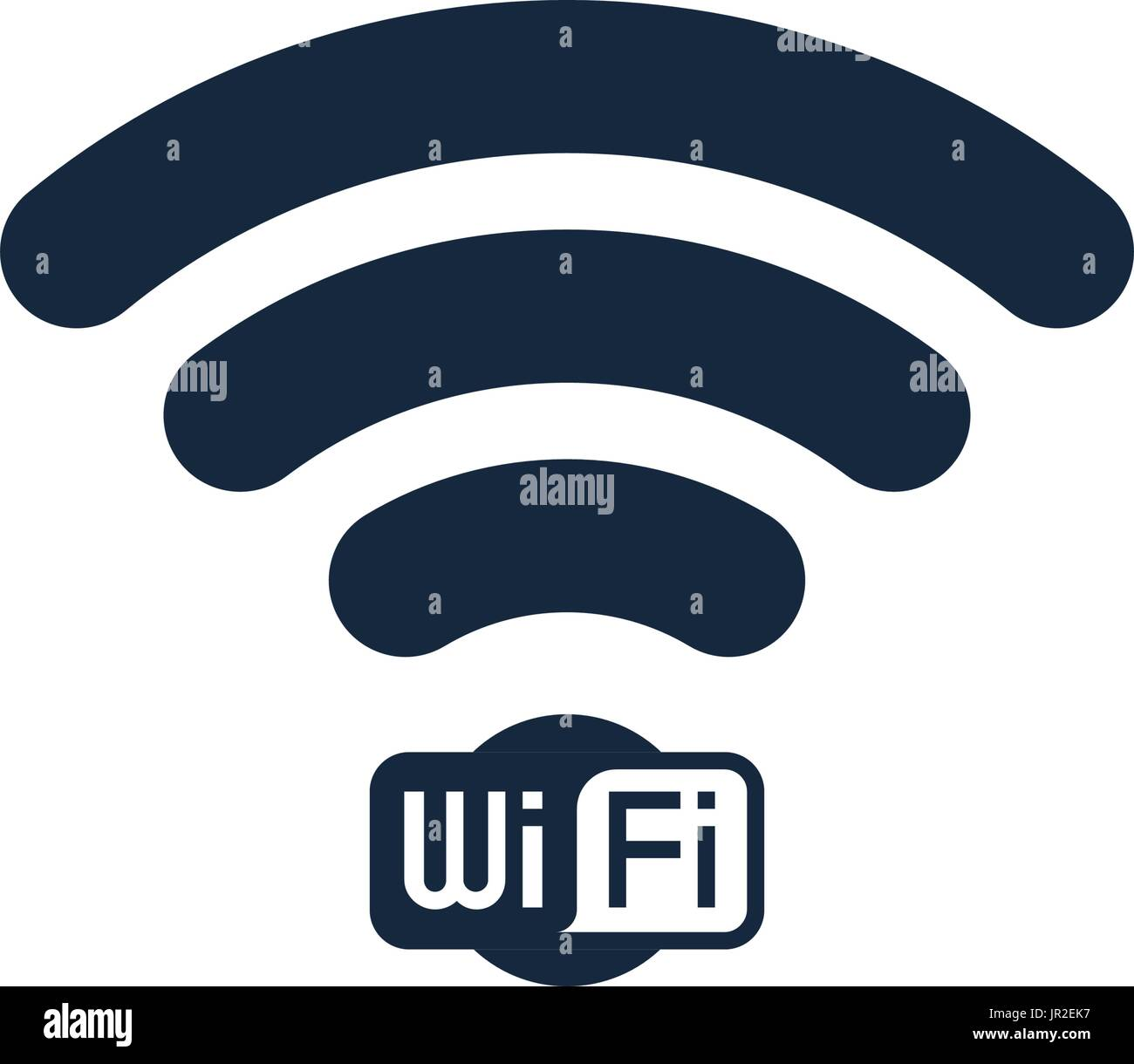 Wifi Icon Stock Vector Images Alamy