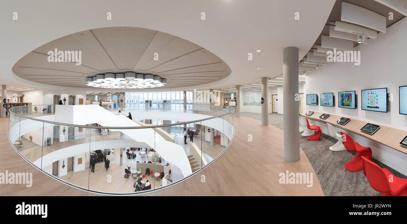The Word, National Centre For The Written Word; South Shields, Tyne And Wear, England - Stock Image