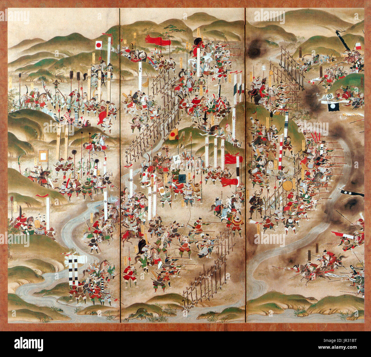 The Battle of Nagashino took place in 1575 near Nagashino Castle on the  plain of Shitarabara in the Mikawa Province of Japan. Takeda Katsuyori  attacked the ...