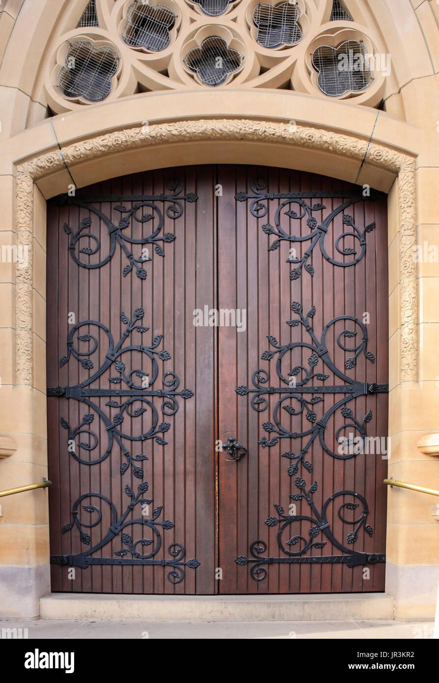 Wooden Church Doors Stock Photos Amp Wooden Church Doors