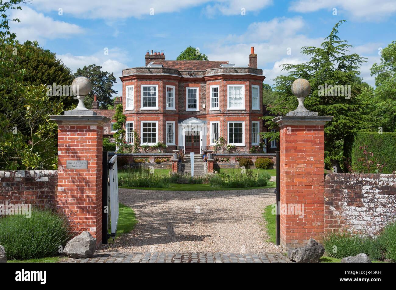 Missenden House, Highmore Cottages, Little Missenden, Buckinghamshire, England, United Kingdom - Stock Image