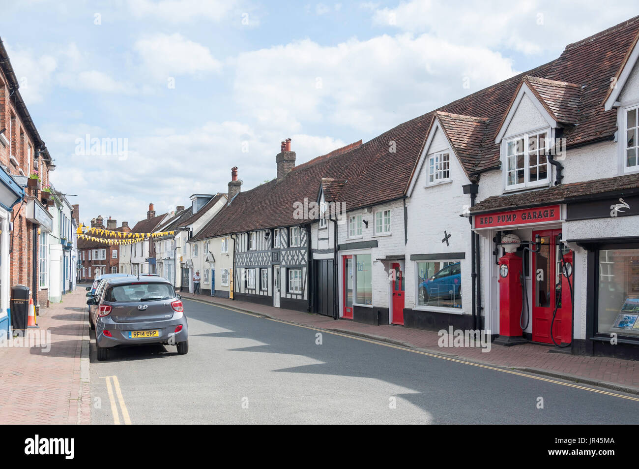 High Street, Great Missenden, Buckinghamshire, England, United Kingdom - Stock Image