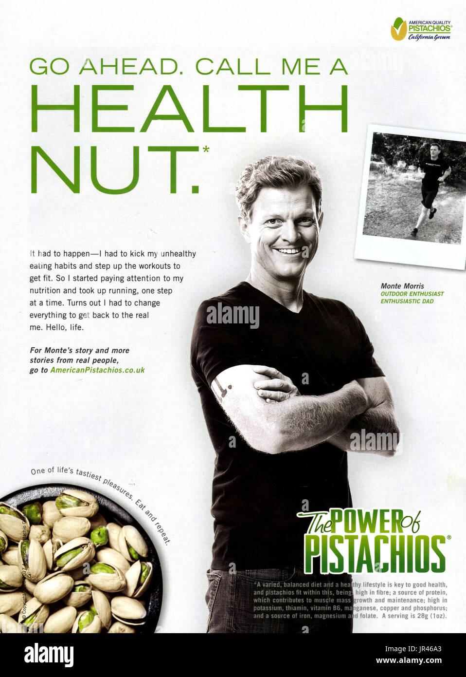 Health And Nutrition Magazine Stock Photos & Health And