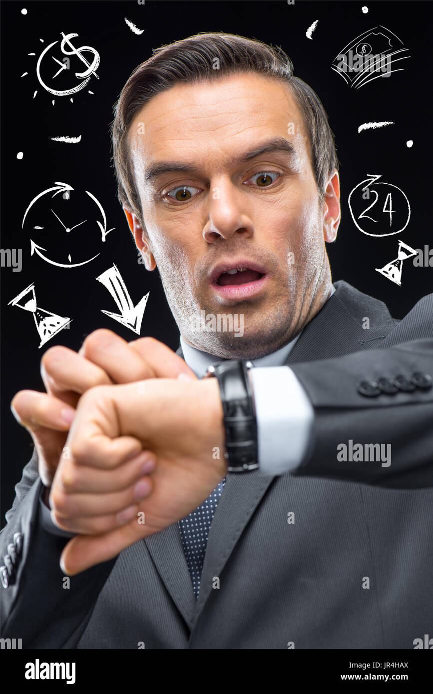 Time management concept - Stock Image