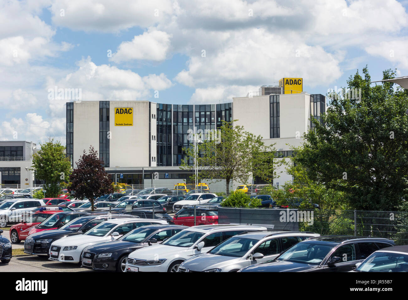 ADAC Technik Zentrum - Landsberg am Lech, Germany - Stock Image