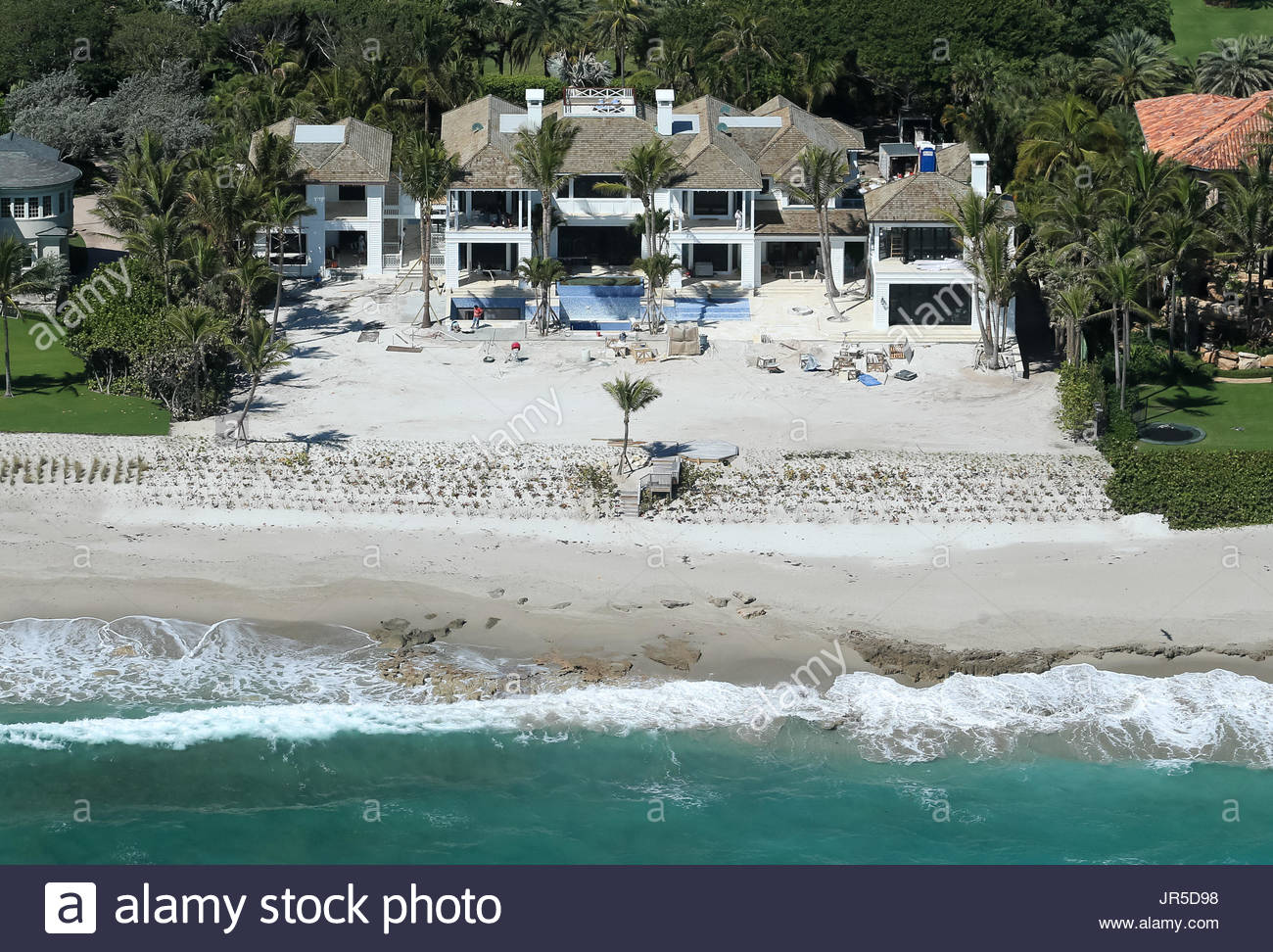 Tiger Woods And Elin Nordegrens House Stock Photos & Tiger Woods And ...