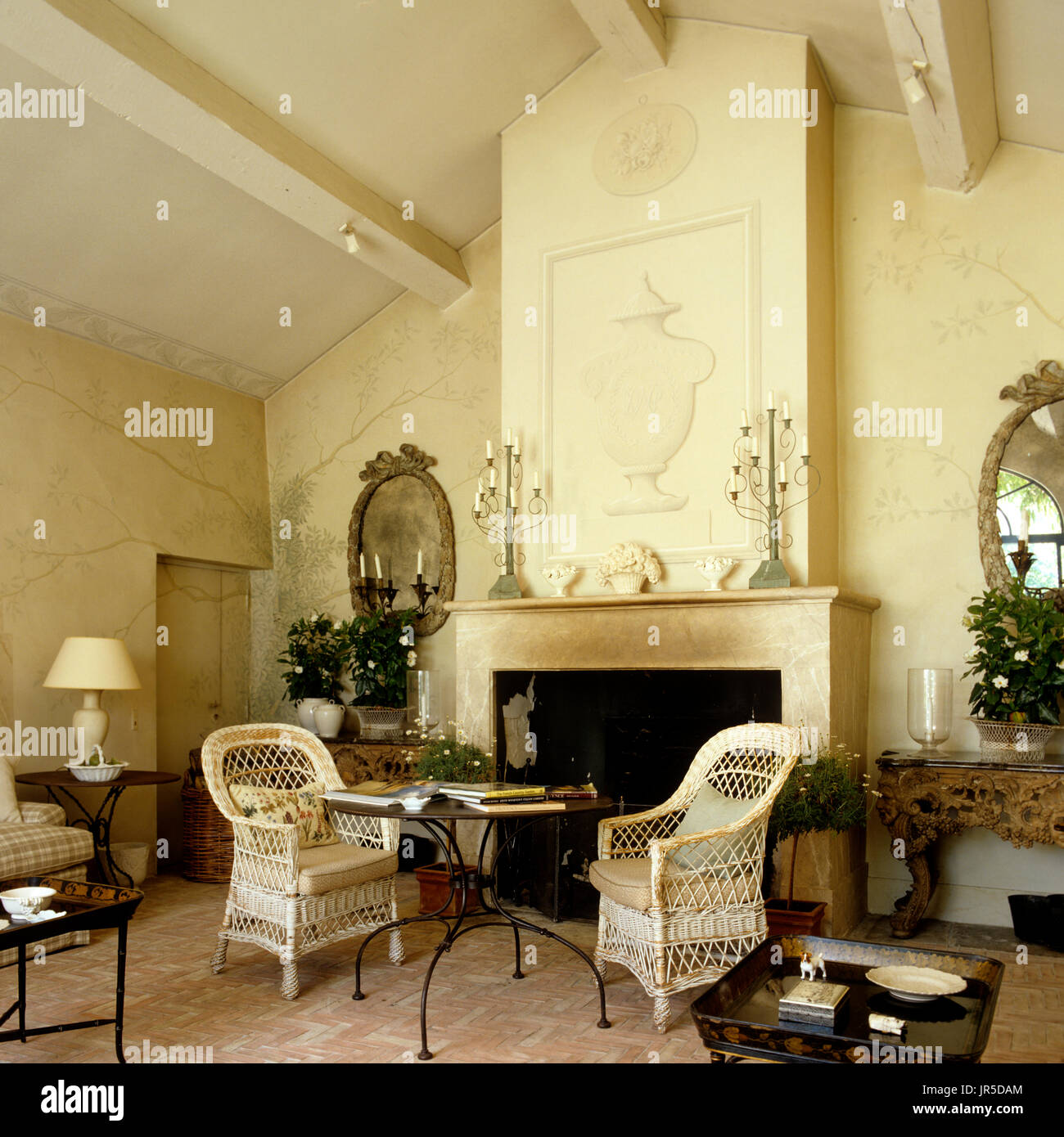 Great Edwardian Style Living Room