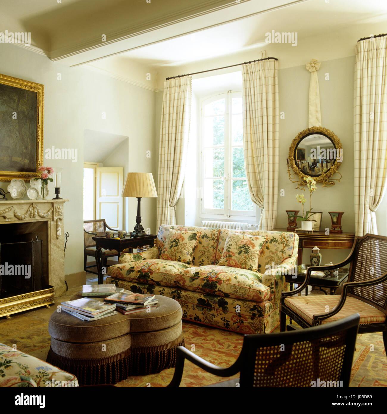 Captivating Edwardian Style Living Room