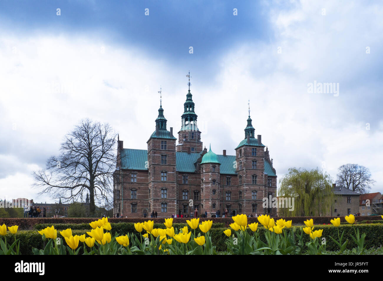 Rosenbourg Castle, Copenhagen, Denmark, - Stock Image